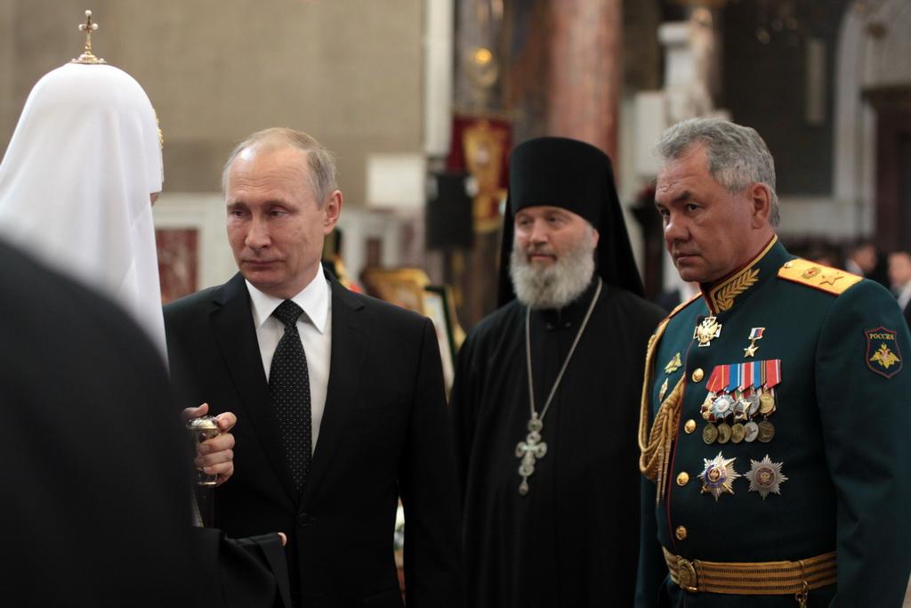 Владимир Путин посетил Кронштадтский Морской собор